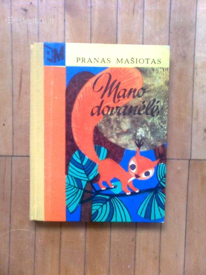 """Pranas Masiotas """"Mano dovanele"""" 1970 metai"""