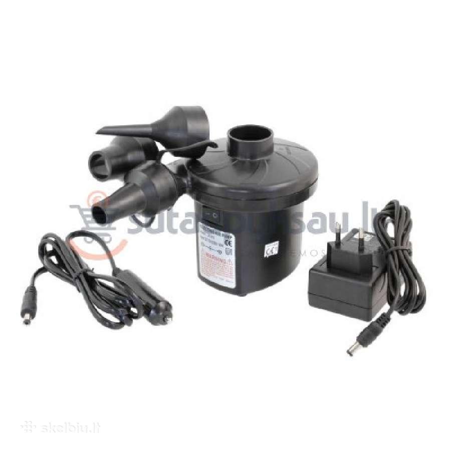 Elektrinė pompa čiužiniui 12-230v