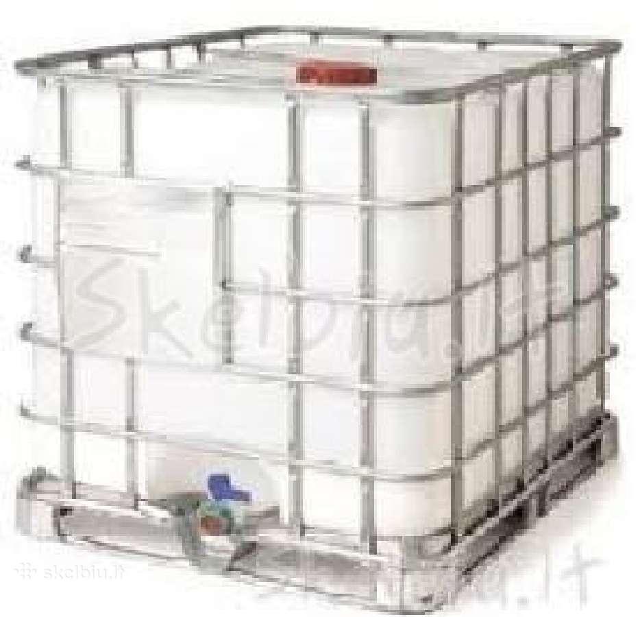 Pirksiu ibc-1000 talpas, konteinerius (backas)