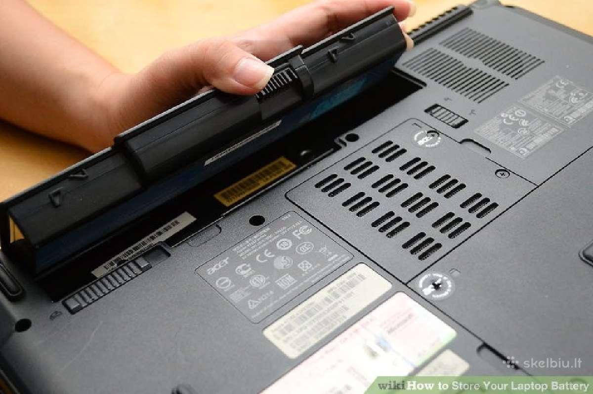 Baterijos (akumuliatoriai) Hp / Compaq laptopams
