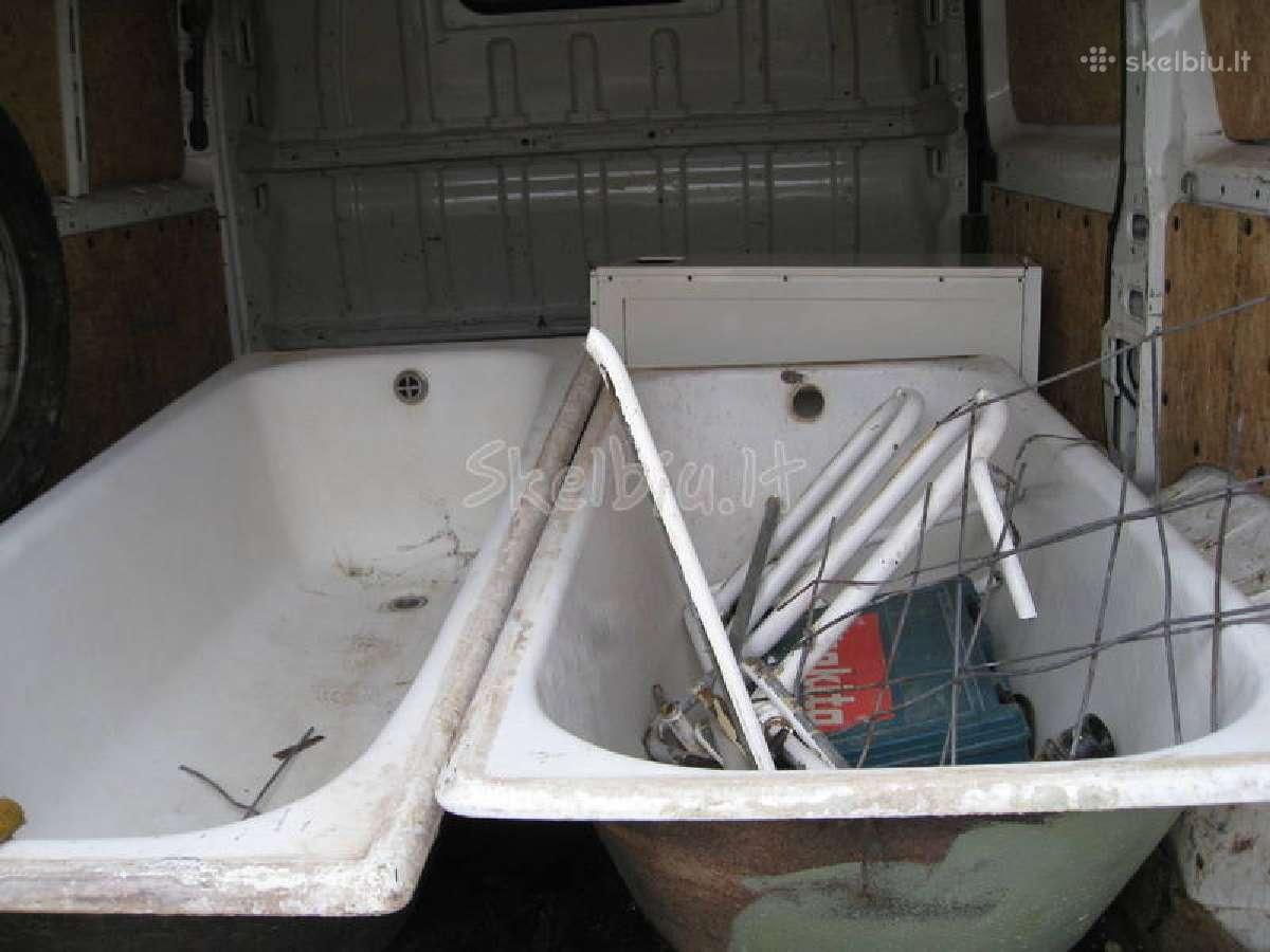 Nemokamai išvežu metala,vonias,buitine technika