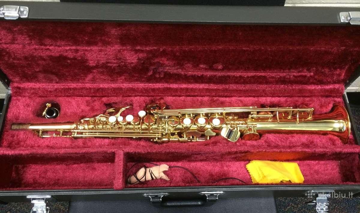 Saksofonas yamaha 275 su selmer c pustuku