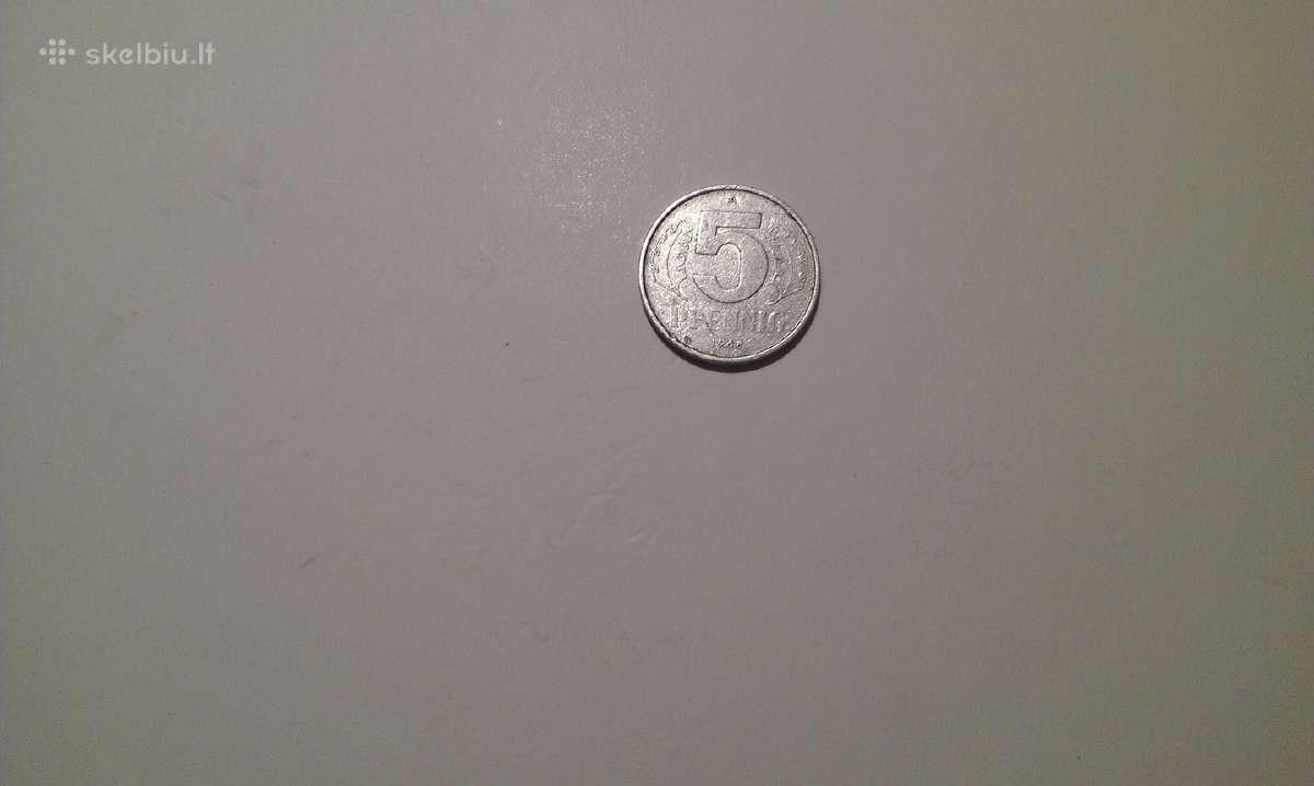 German-democratic Republic 5 Pfennig, 1968