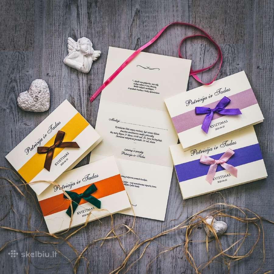 Stilingi vestuviniai kvietimai