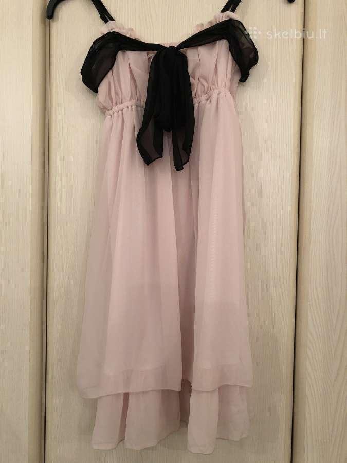 Rozine suknele mergaitems