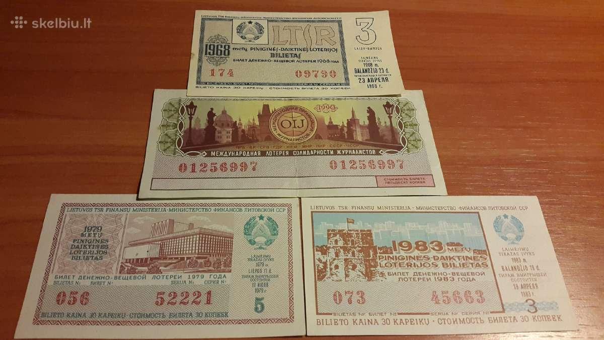 Loterijos bilietai