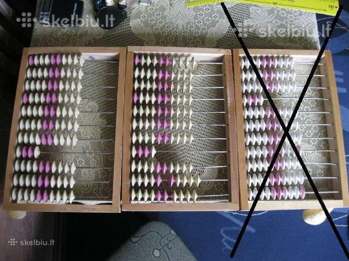 CCCP Skaitliukai 40 cm x 26 cm. liko tik 1 vnt.