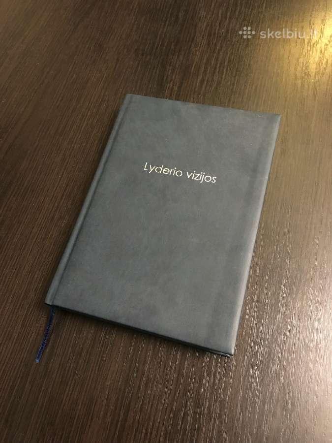 Lyderio Vizijos, užrašų knygą su sentencijomis
