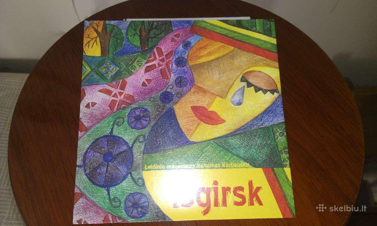 """CD diskas naujas """"Išgirsk"""""""
