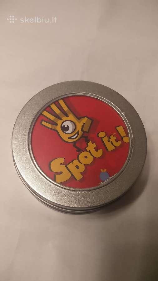 Spot It - labai populiarus kortų žaidimas