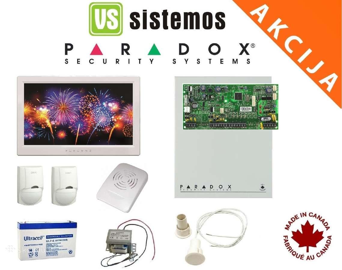 Profesionali Paradox patalpų apsaugos sistema