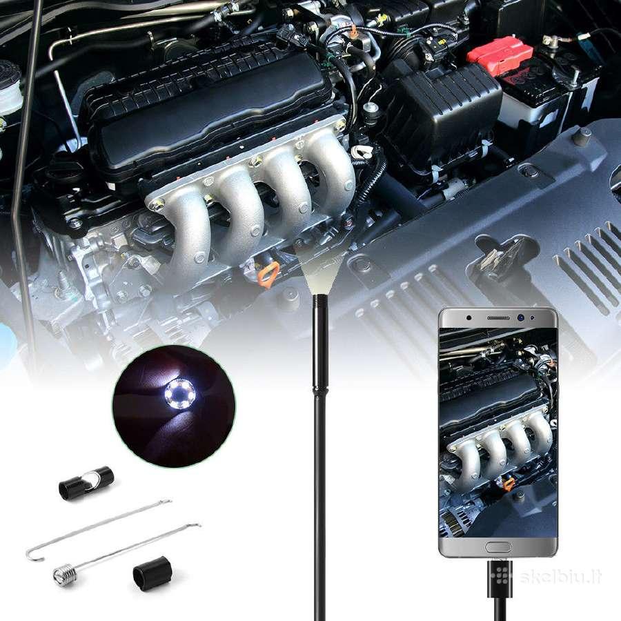 Endoskopine kamera 5.5mm ir 7mm (Android) - Skelbiu.lt
