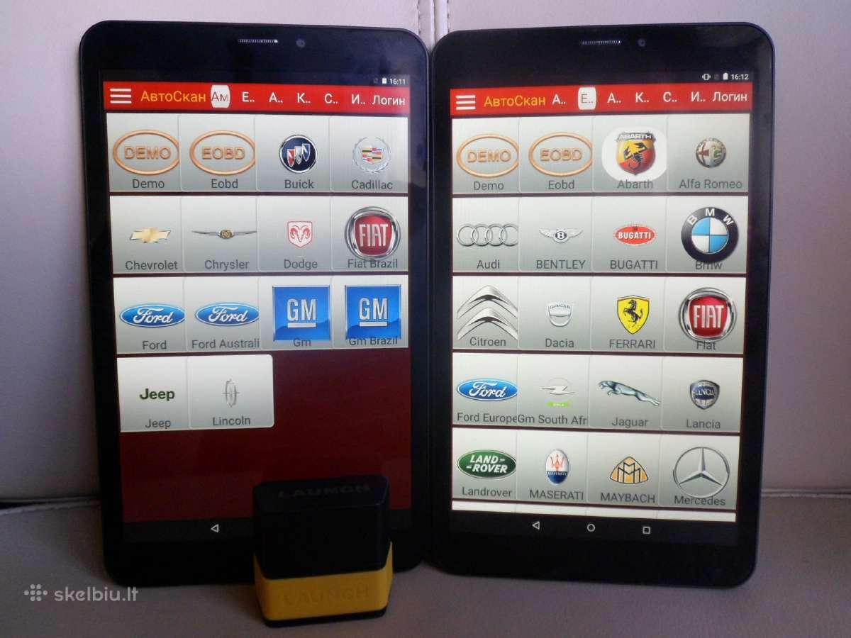 Launch Easydiag Pro3s visos mark. analogas autocom