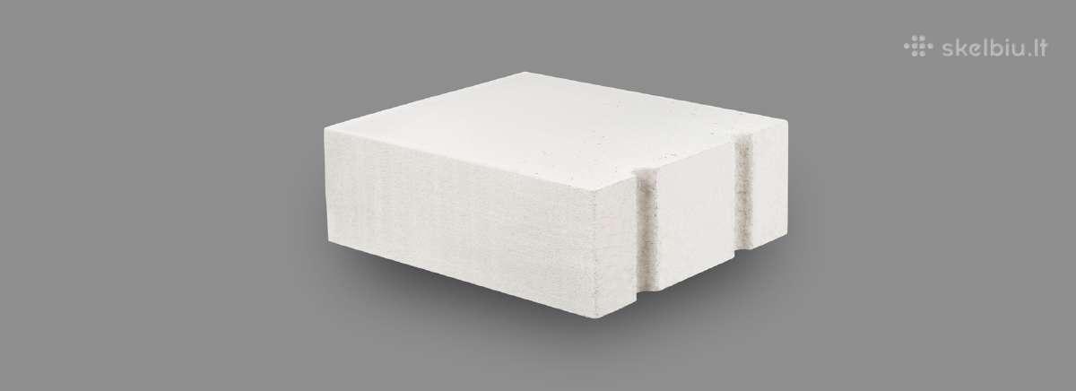 Bauroc akyto betono blokai-dujų silikato blokeliai
