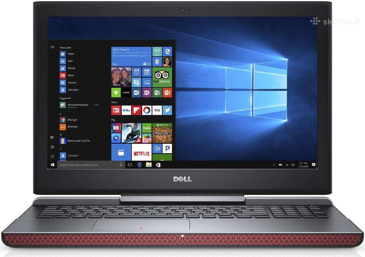 Dell Inspiron 15 7577 Black i7-7700hq Ips Gtx 1060