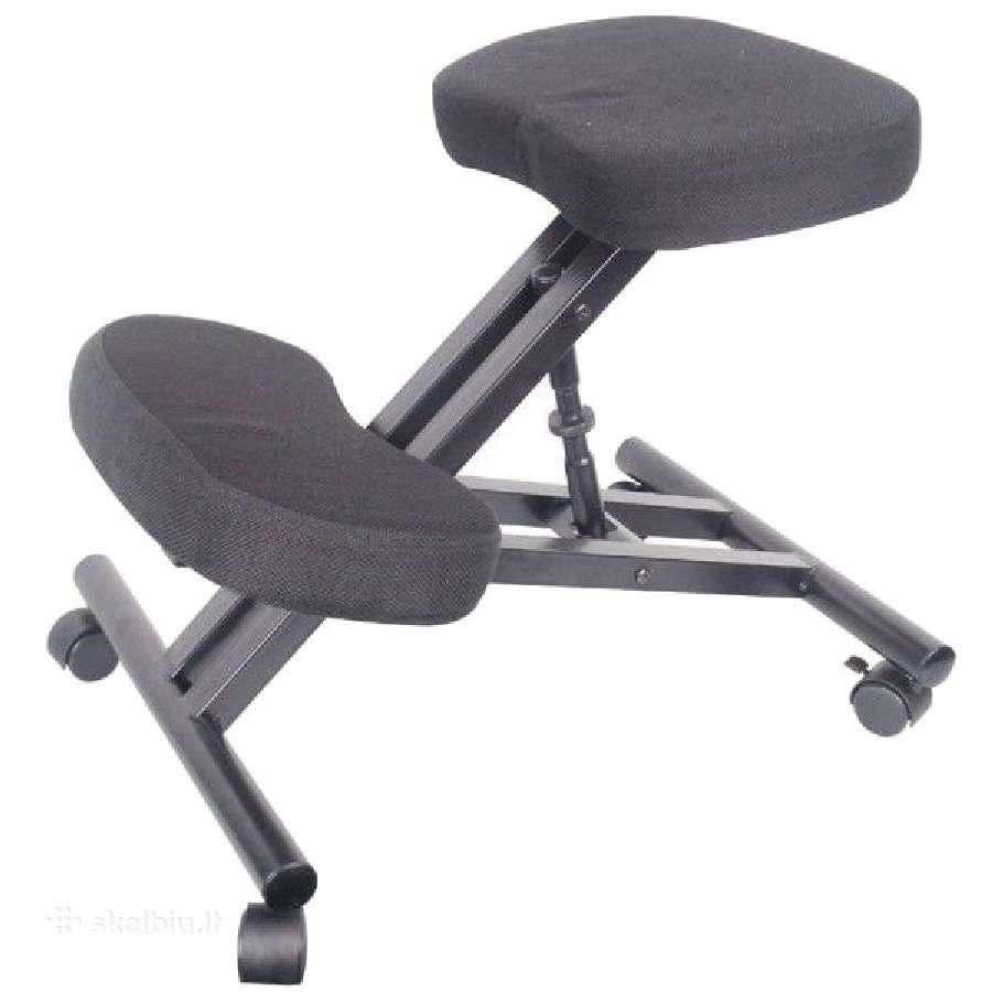 Kompiuterinė - ergonominė kėdė apsaugoti nugarą