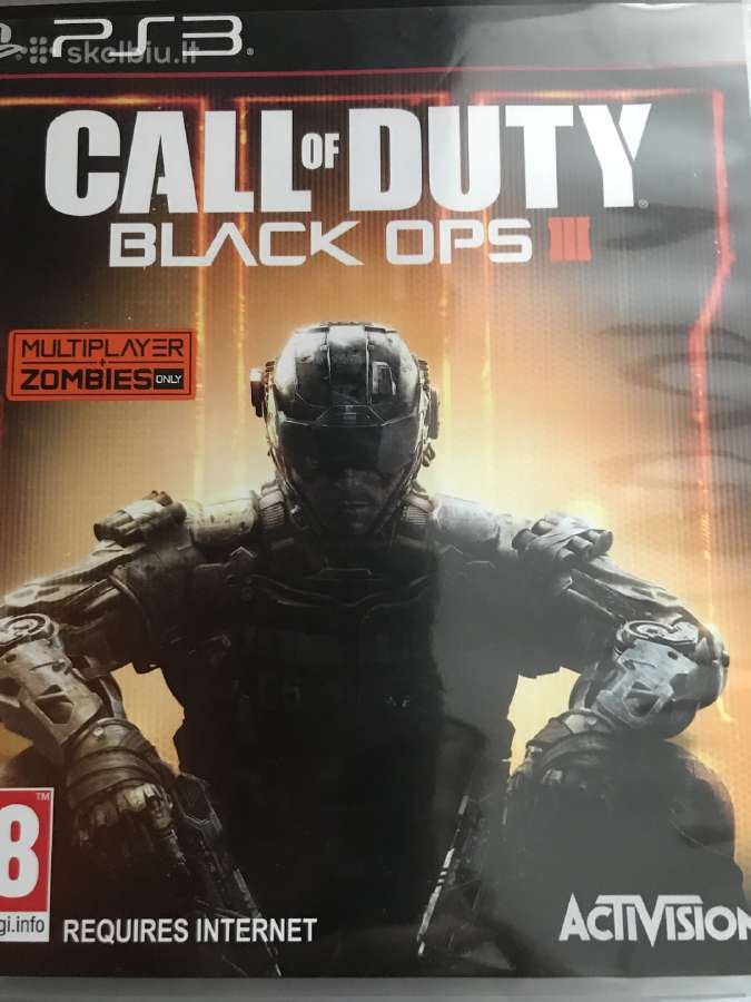 PS3 Call of duty black ops3
