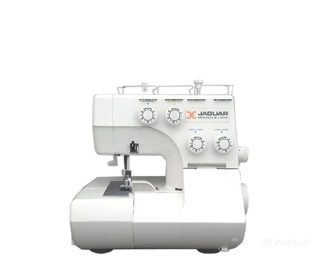 Nebrangūs overlokai ir siuvimo mašinos