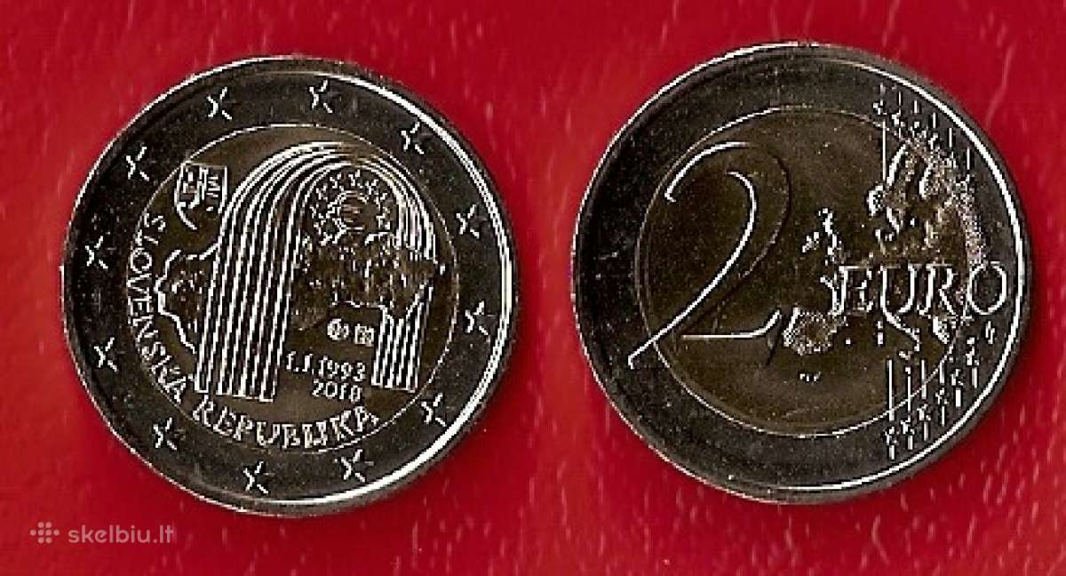 Slovakija 2018 m. 2 € Respublikos 25-metis Unc