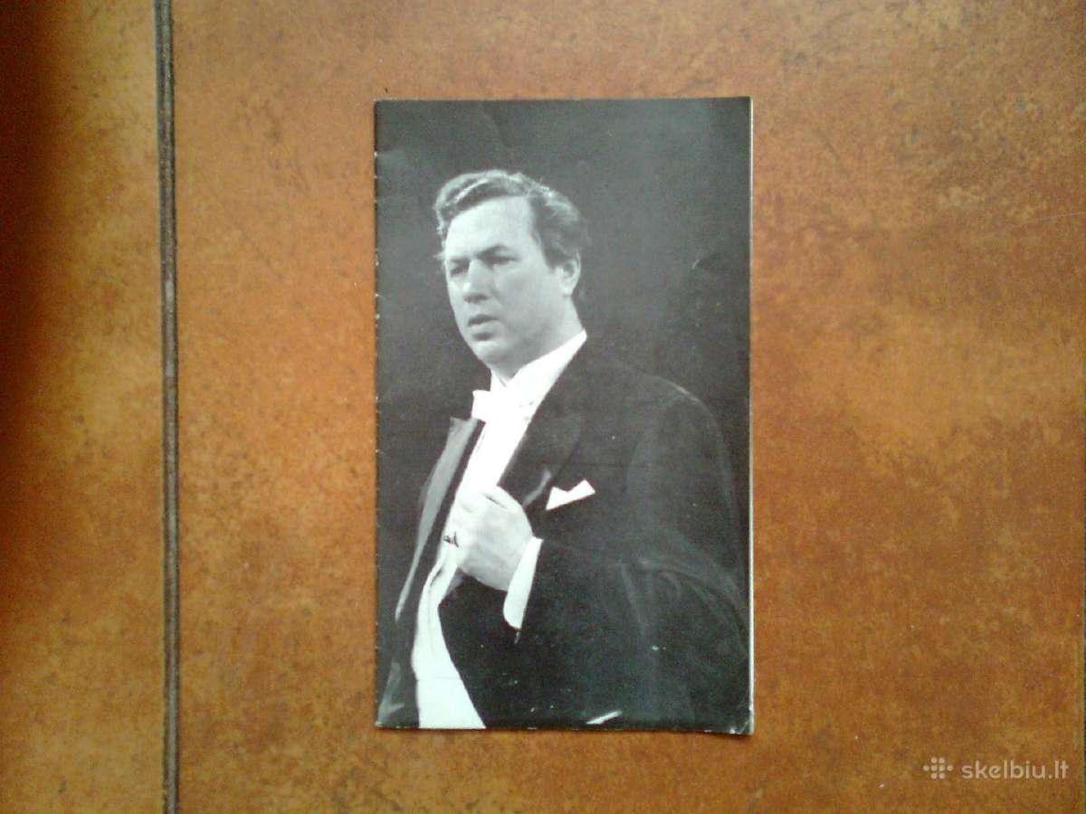 Virgilijaus Noreikos koncerto programa 1974 metai