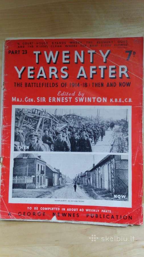 1938 Žurnalas I pasaulinio karo tematika
