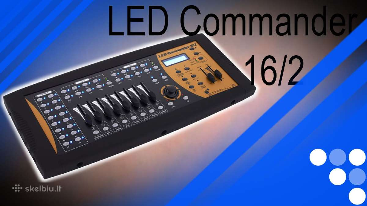 Stairville Led Commander 16/2 pultas Naujas