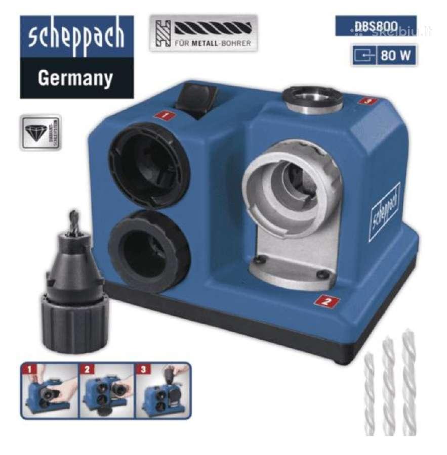 Grąžtų galąstuvas Scheppach 3-13mm