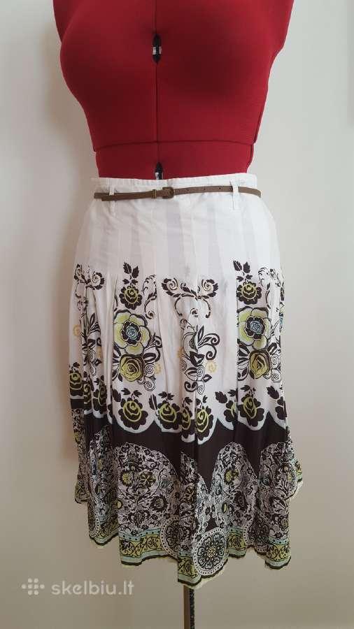 Vasariškas moteriškas sijonas
