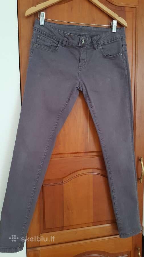 Laisvalaikio moteriškos džinsines kelnės