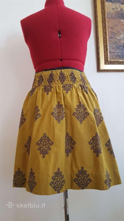 Puošnus vasarinis sijonas