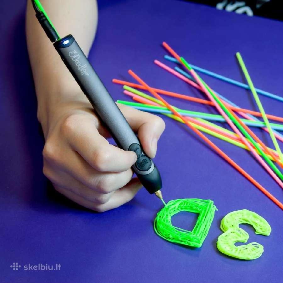 3D tušinuko siūlai
