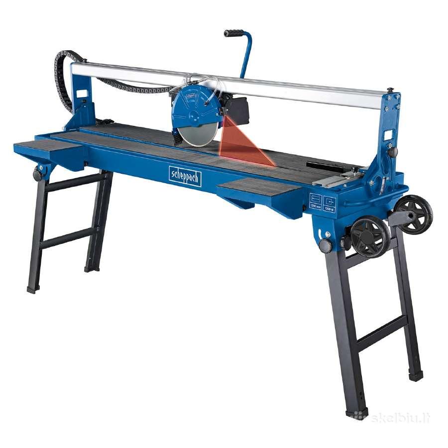 Profesionali plytelių pjaustyklė 1.2m ilgio iš Vok