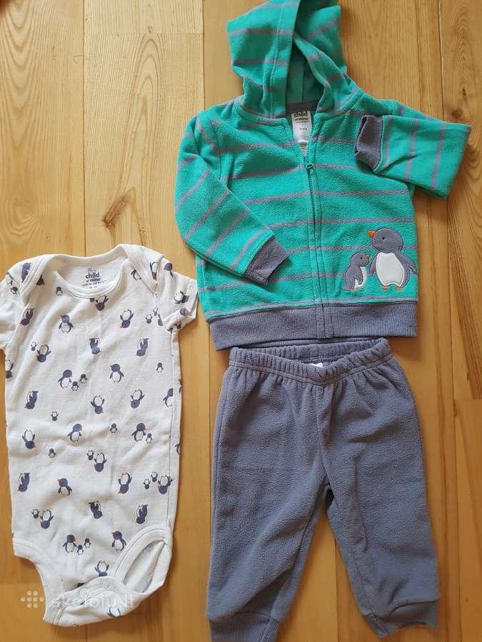 Carters komplektukas 3-6 mėn berniukui
