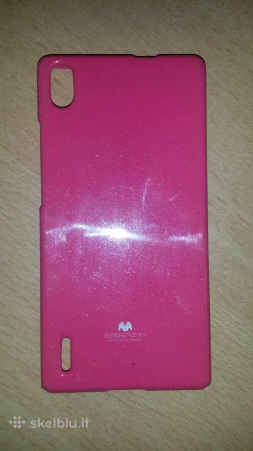 Huawei P7 silikoninis Goospery dėkliukas