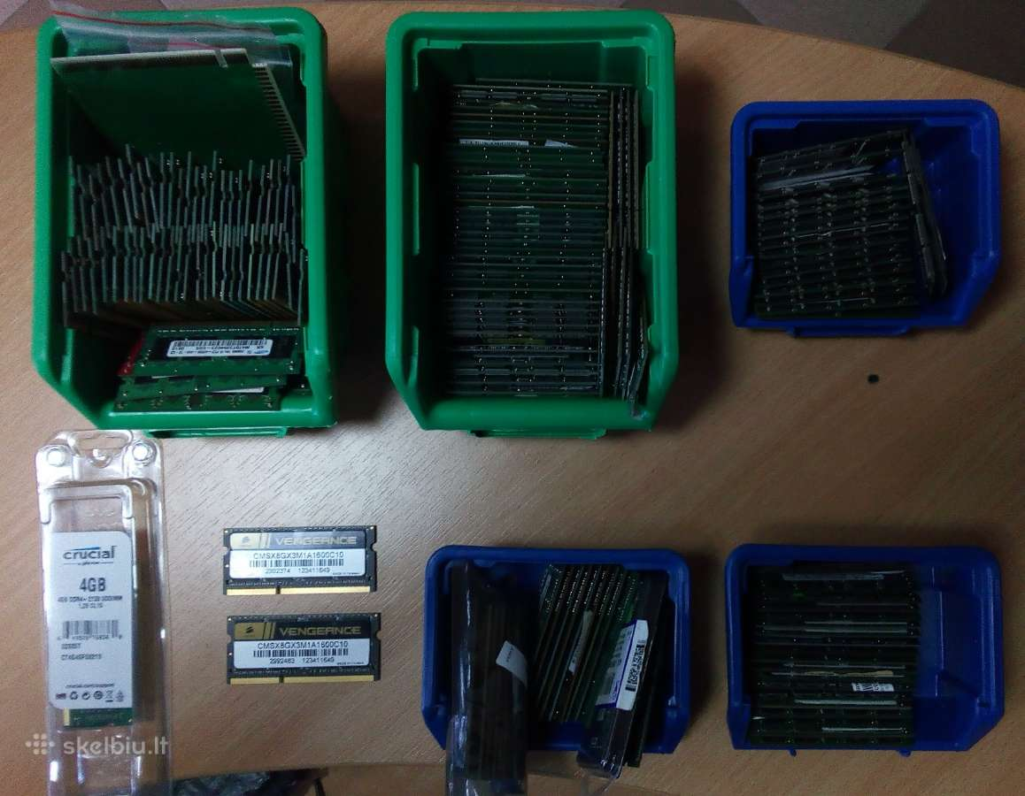 Ddr, Ddr2, Ddr3 nesiojamiems laptop notebook