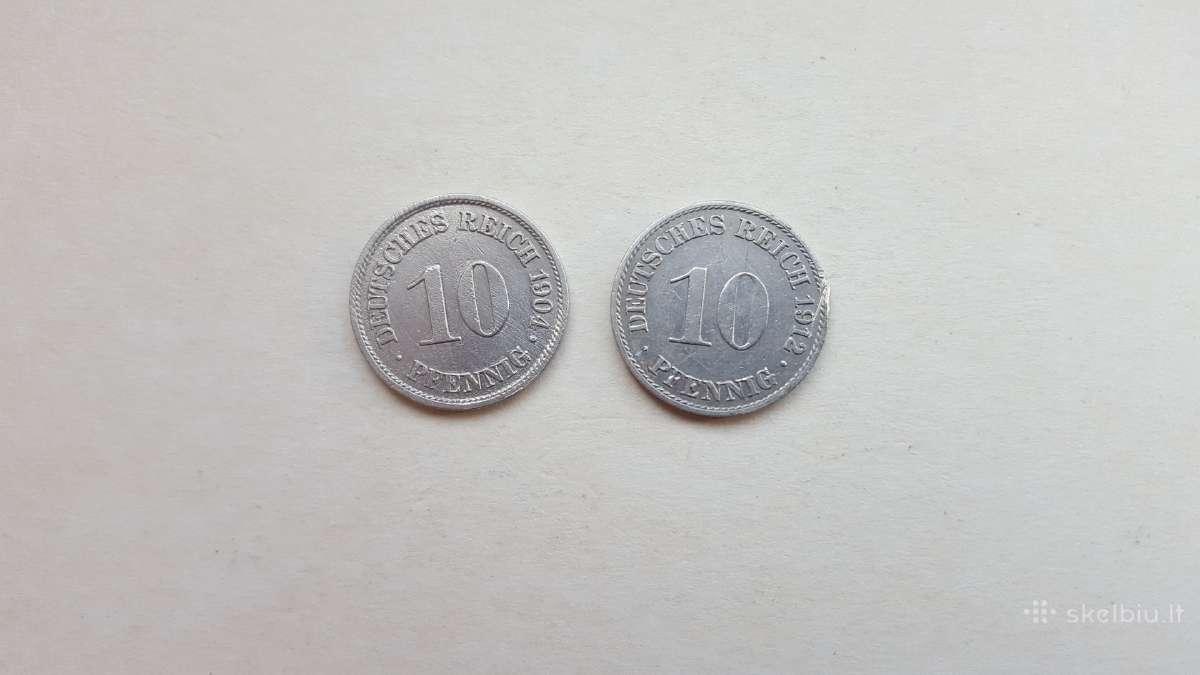 Vokietijos imperija 10 pfennig