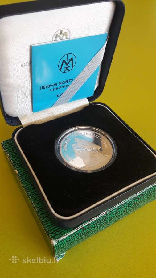 1996m 50 litu moneta, 1991m sausio 13-ajai