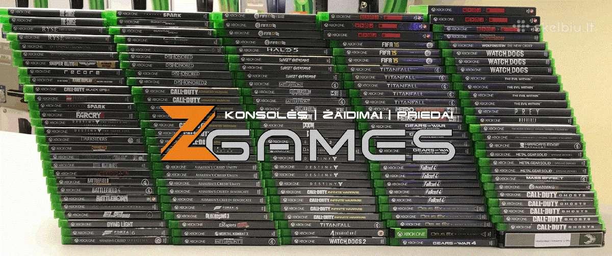 Pigūs Xbox One žaidimai