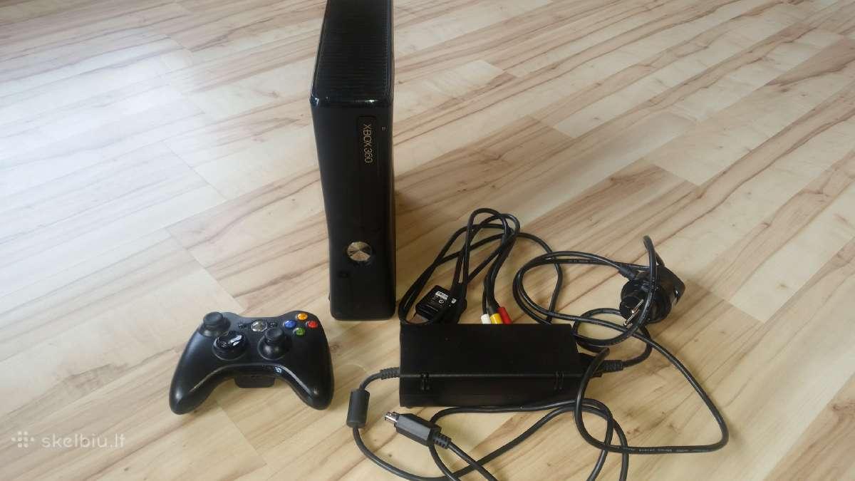 Atrišti Xbox 360, originalūs žaidimai, kinektai kt