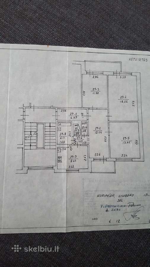 Klaipėda, Alksnynė, Liubeko g., 3 kambarių butas