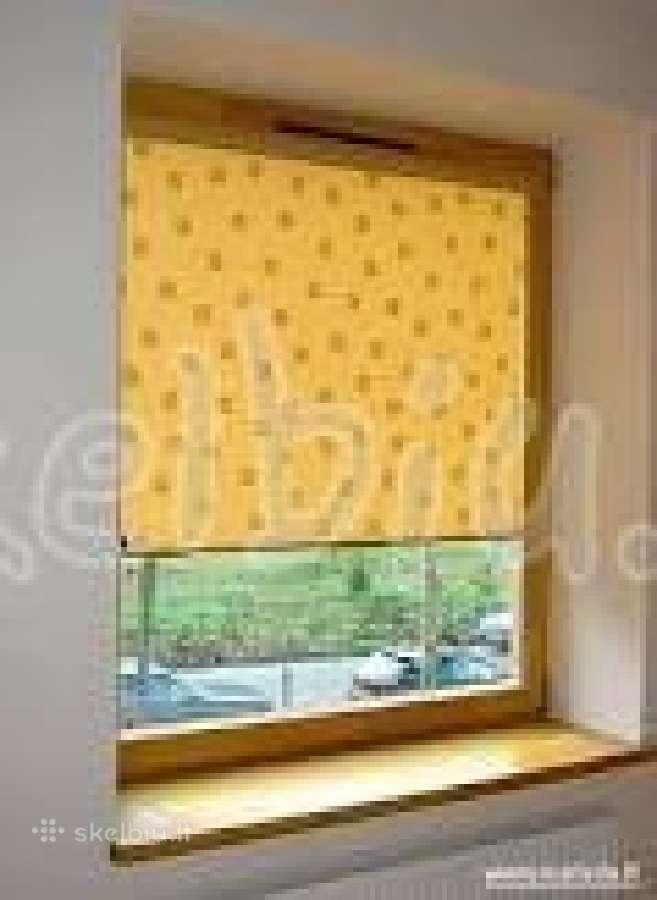 Roletai/plastikiniai langai/šarvuotos durys