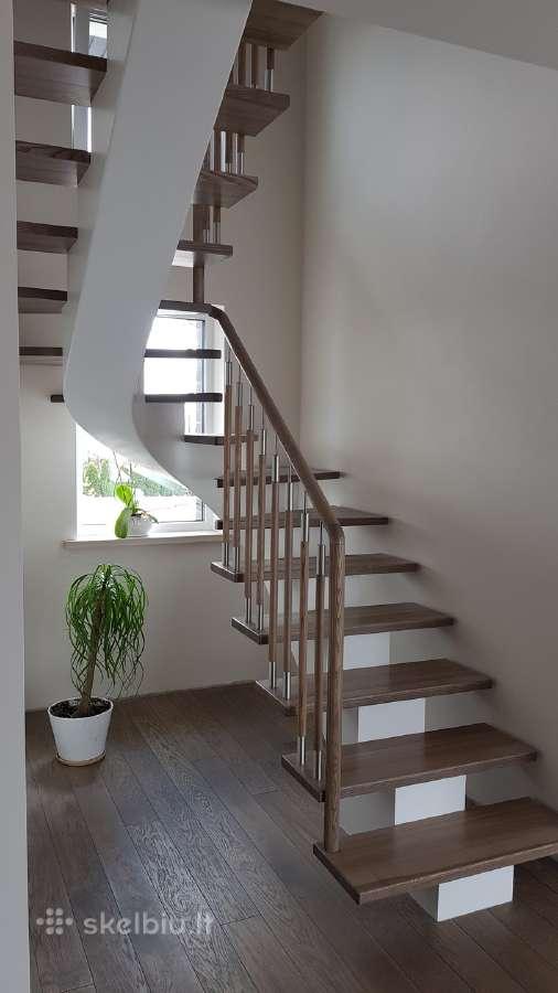 Laiptai Laiptu gamyba medzio pakopos