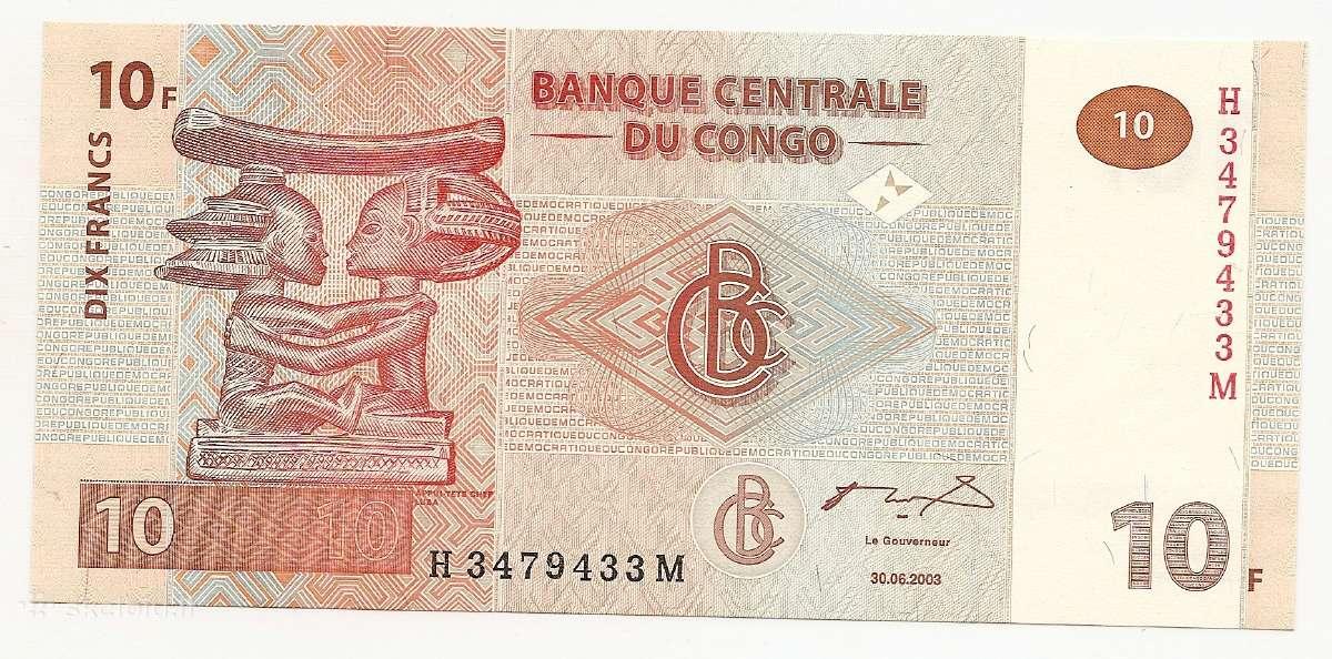 Kongo Dr banknotai