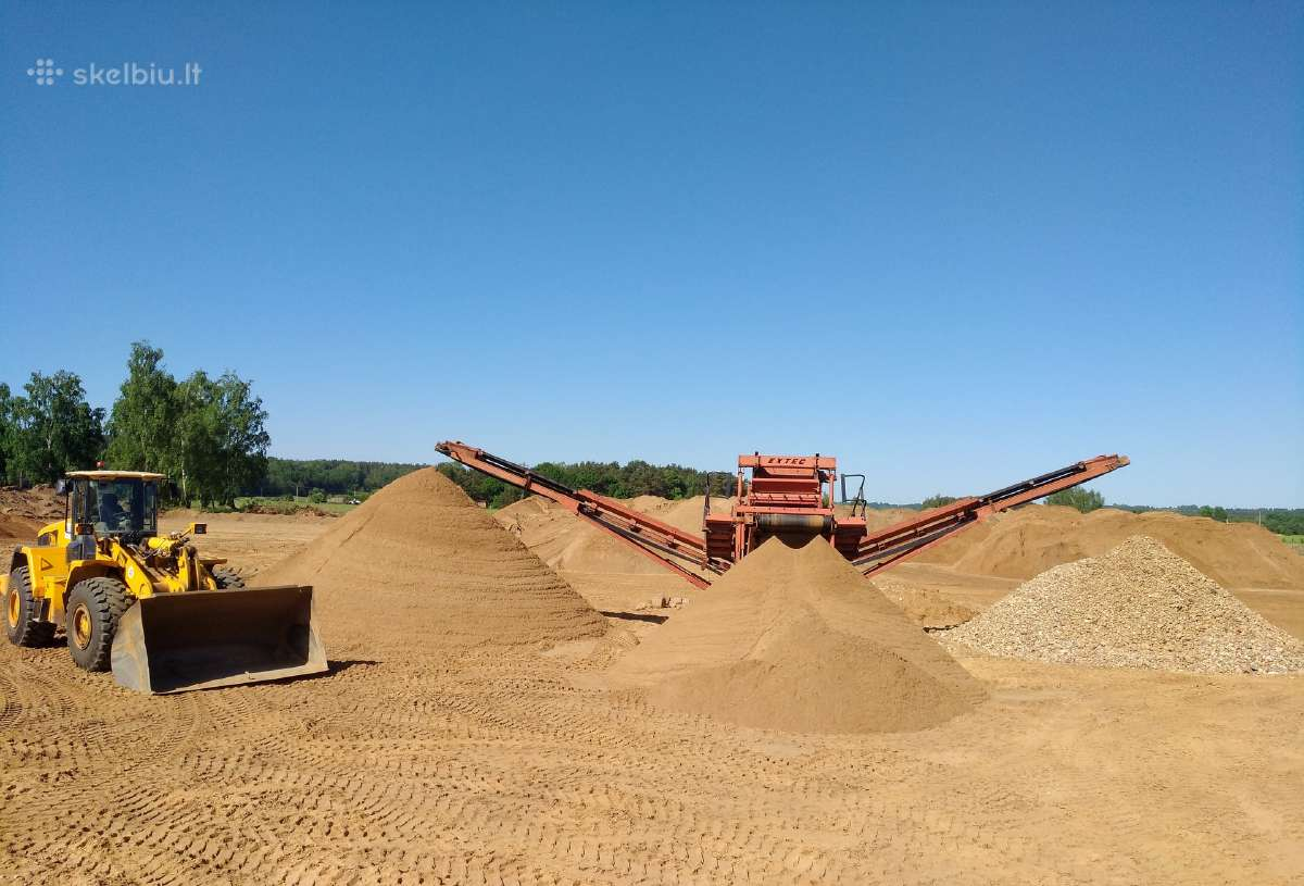 Žvyras, smėlis ir jų produkcija - Kaunas