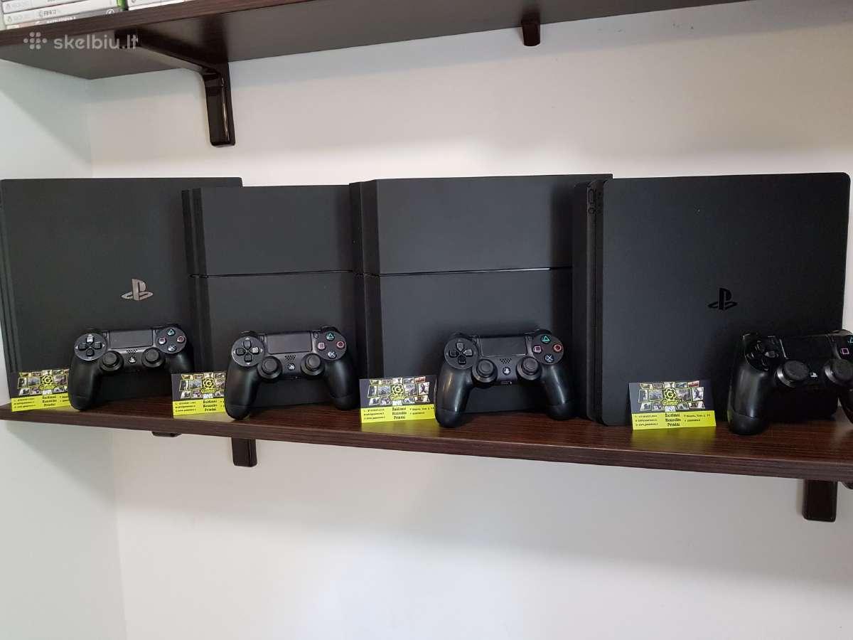 Naudotos Sony Playstation 4 Konsolės Su Garantija - Skelbiu.lt