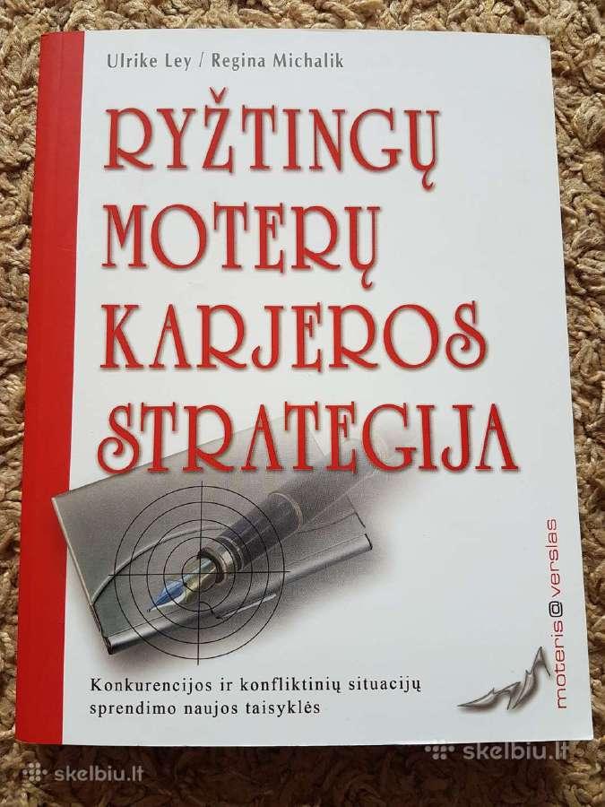 Knyga - Ryžtingų moterų karjeros strategija