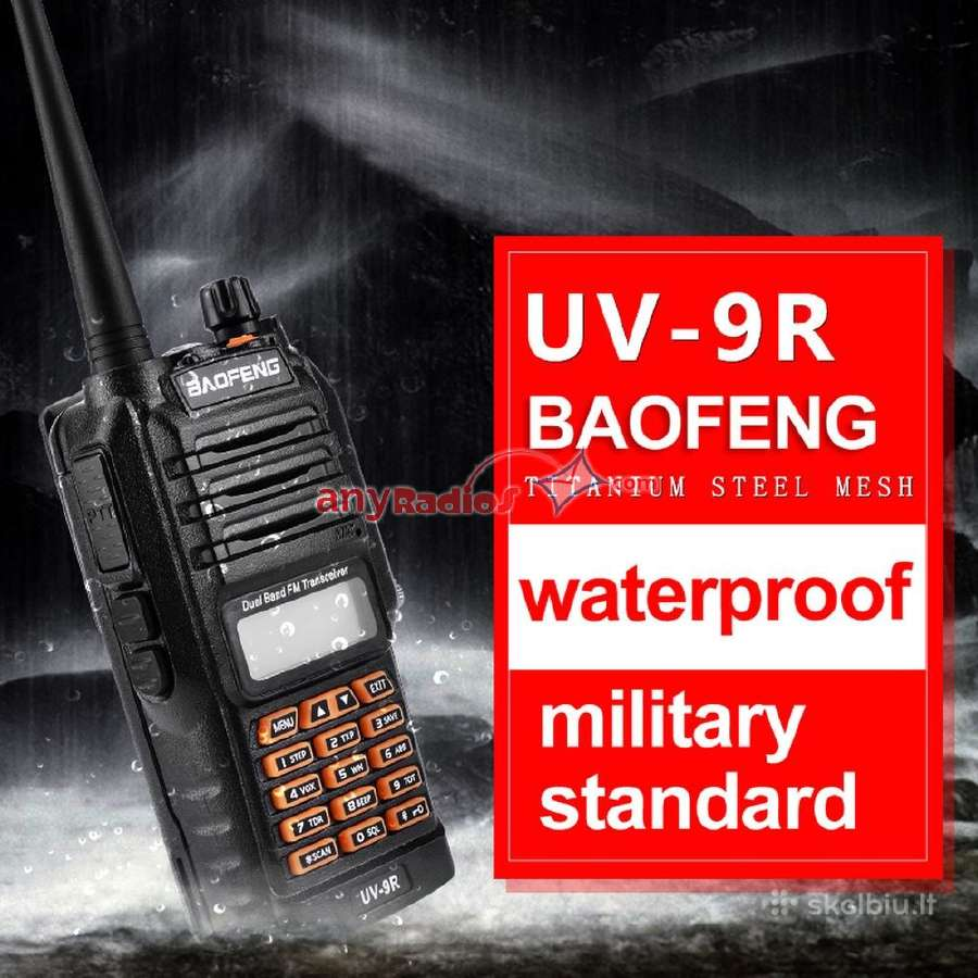 Radijo stotelės Baofeng Uv-9r aukščiausios klasės