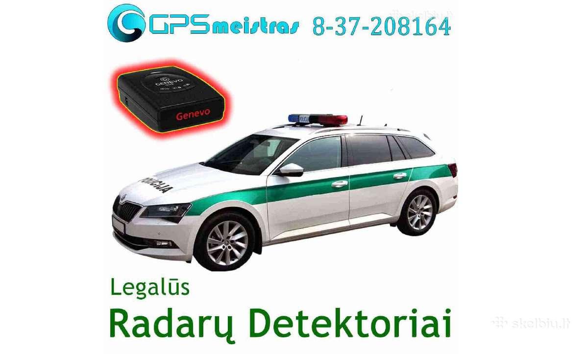 Premium klasės radarų detektorius Genevo