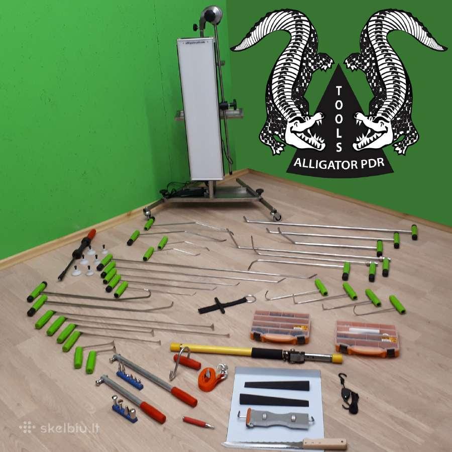 Alligator-pdr tools / meninio lyginimo irankiai