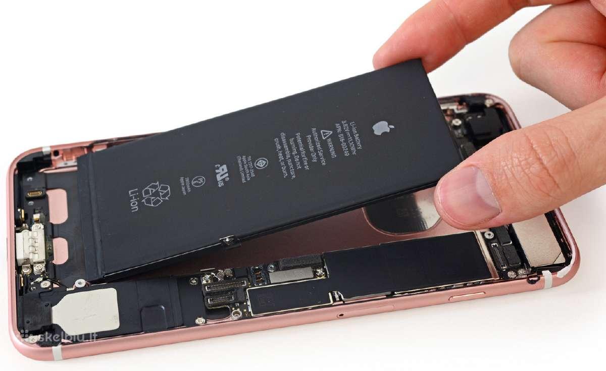 iPhone originalios baterijos (su garantija)
